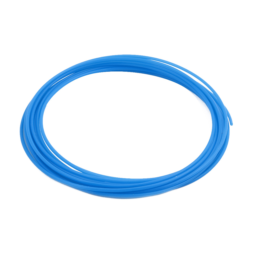 1.93mmx2.33mm PTFE Resistant High Temperature Blue Tubing 5 Meters 16.4Ft