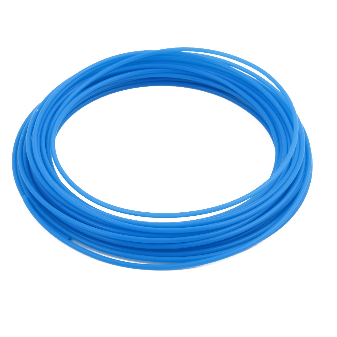 1.93mmx2.33mm PTFE Resistant High Temperature Blue Tubing 10 Meters 32.8Ft