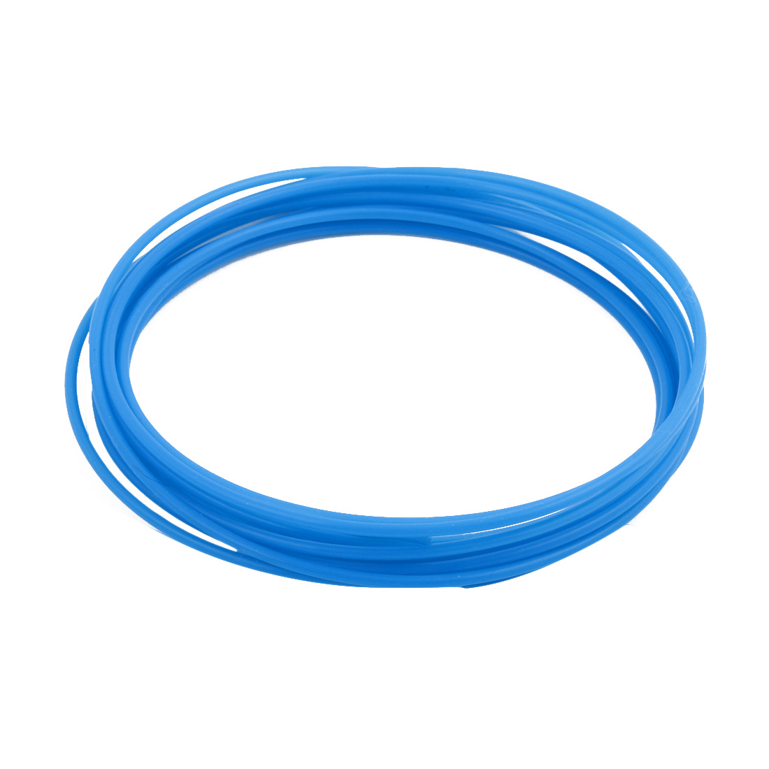 2.41mmx2.81mm PTFE Resistant High Temperature Blue Tubing 5 Meters 16.4Ft