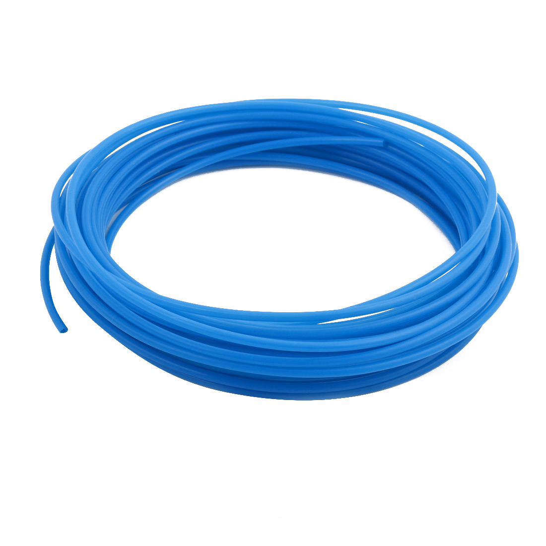 2.41mmx2.81mm PTFE Resistant High Temperature Blue Tubing 10 Meters 32.8Ft