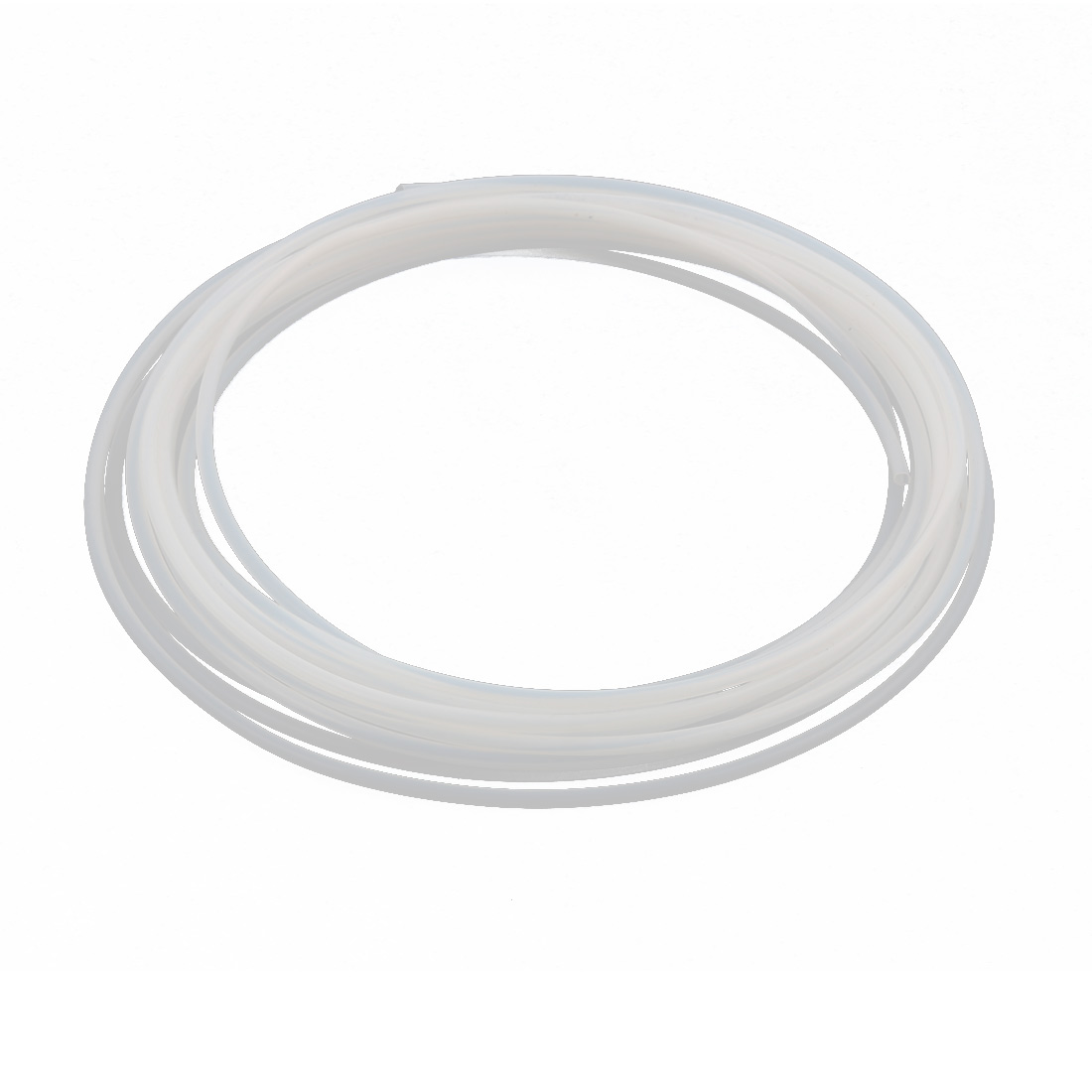 2.41mmx2.81mm PTFE Resistant High Temperature Transparent Tubing 5Meters 16.4Ft