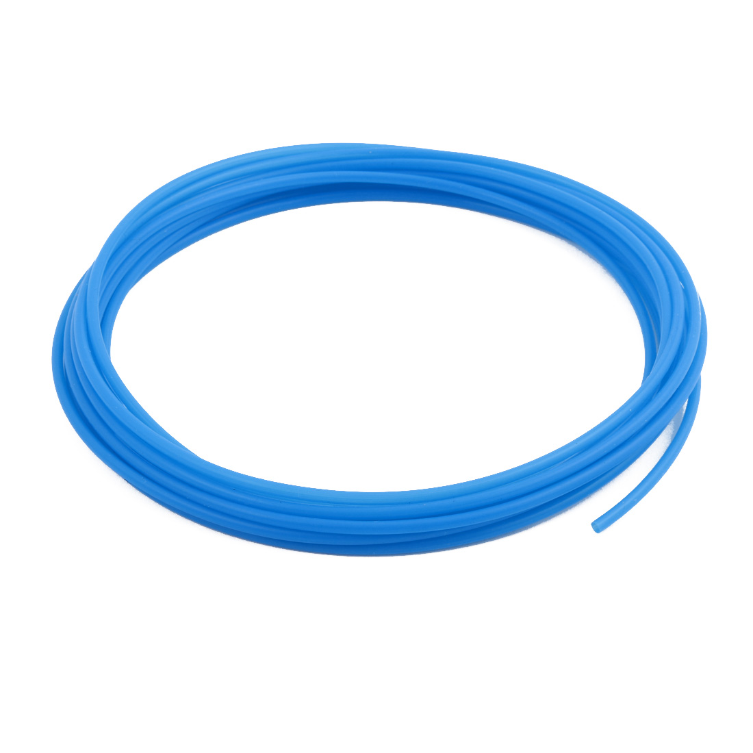 2.69mmx3.09mm PTFE Resistant High Temperature Blue Tubing 5 Meters 16.4Ft