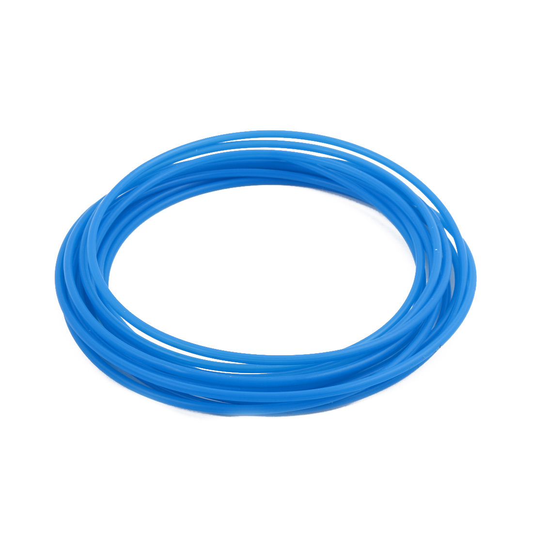 3mmx3.4mm PTFE Resistant High Temperature Blue Tubing 5 Meters 16.4Ft