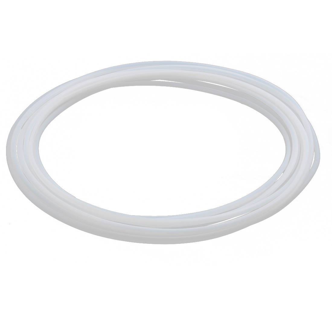 6.54mmx5.94mm PTFE Resistant High Temperature Transparent Tubing 3Meters 9.84Ft