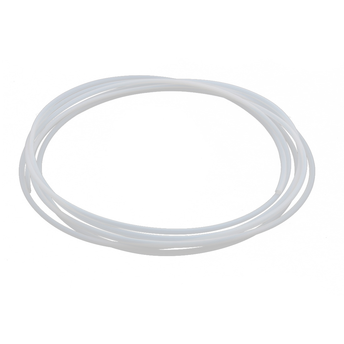 5.32mmx4.72mm PTFE Resistant High Temperature Transparent Tubing 5Meters 16.4Ft