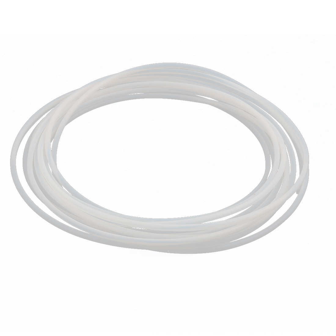 3mmx3.4mm PTFE Resistant High Temperature Transparent Tubing 5Meters 16.4Ft
