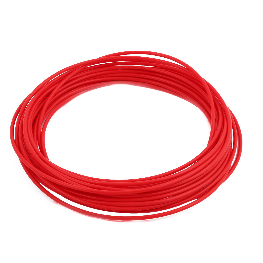 2.69mmx3.09mm PTFE Resistant High Temperature Red Tubing 10 Meters 32.8Ft