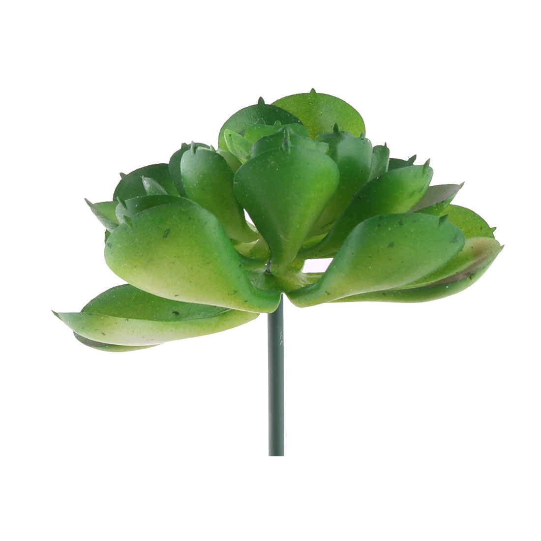 Home Counter Plastic DIY Artificial Emulational Succulent Plant 2.3 Inches Dia