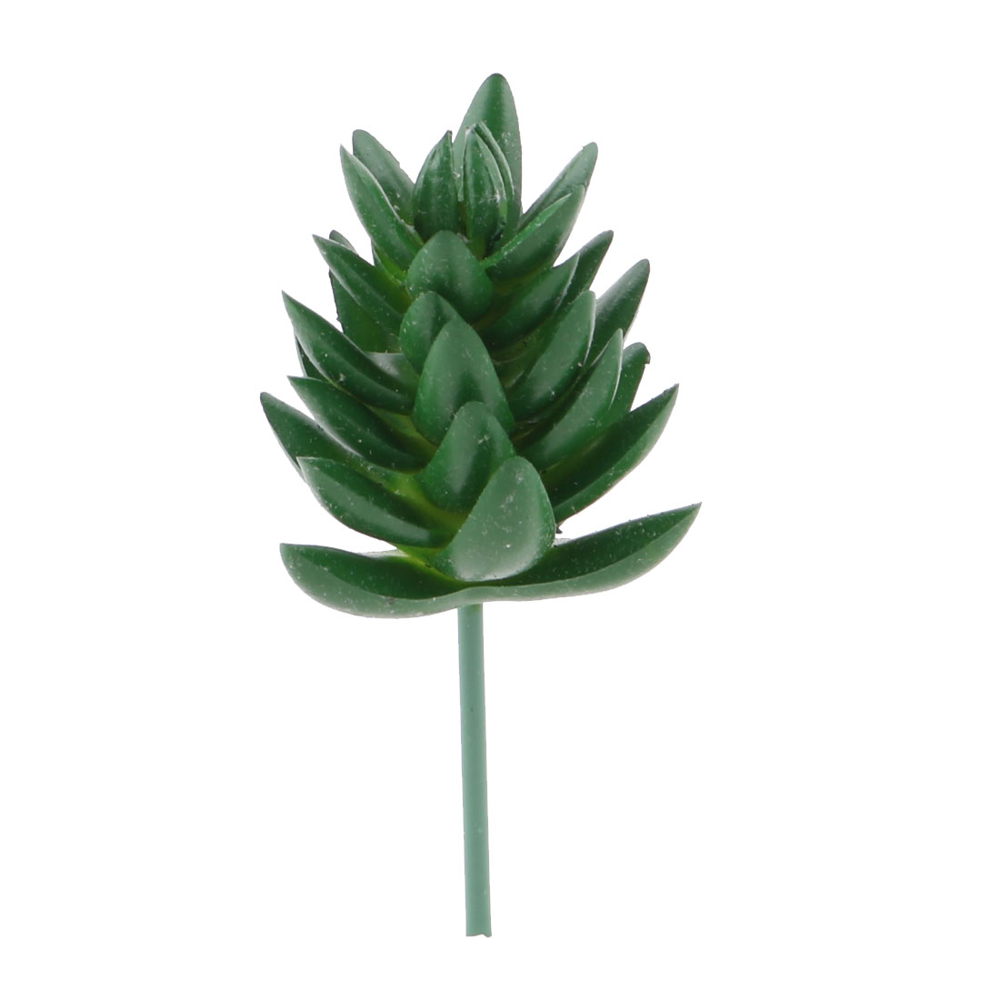 Home Window Plastic DIY Artificial Emulational Succulent Plant 3.7 Inches Height