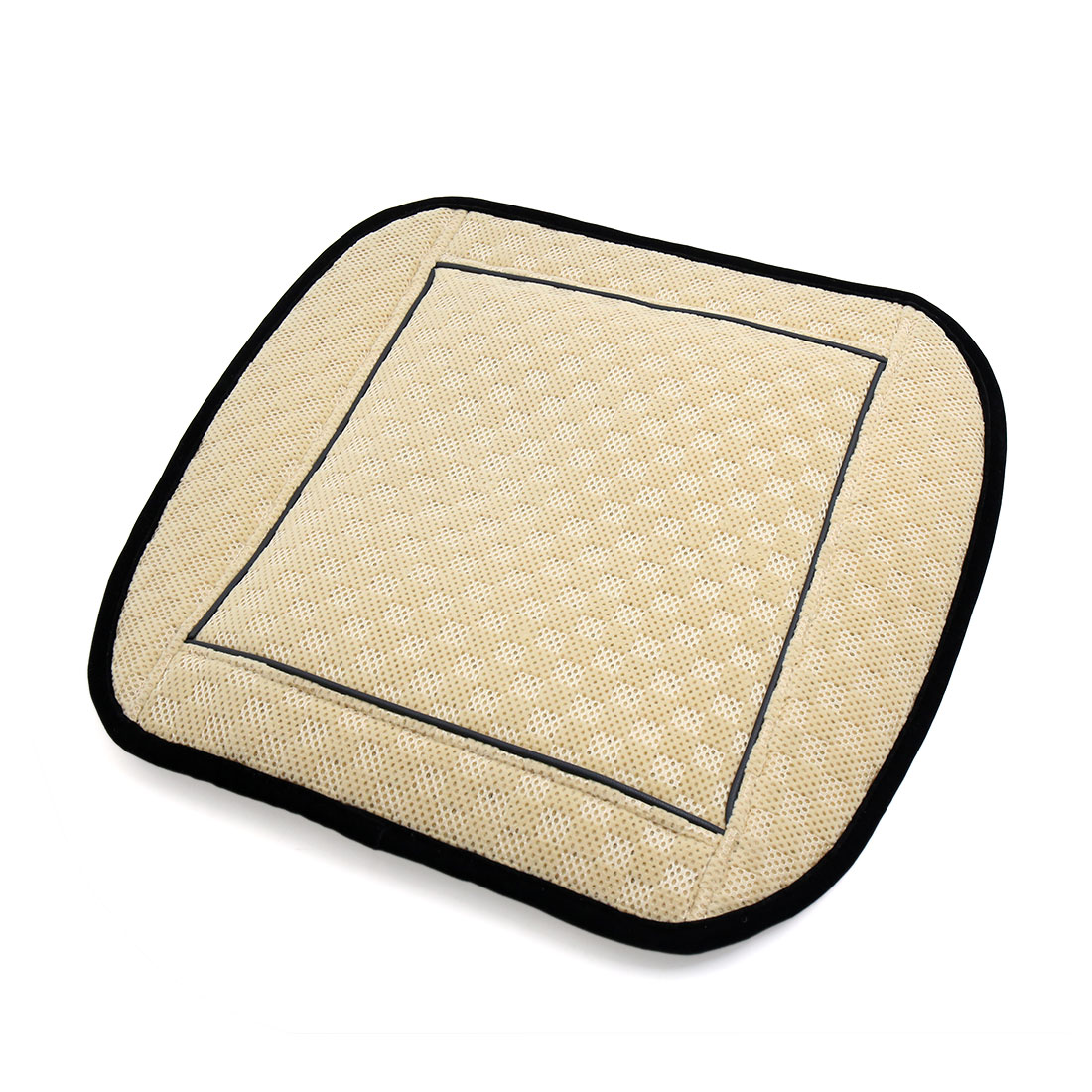 Dark Beige Heated Seat Cushion Winter Warm Pad Mat Cover for Car Vehicle