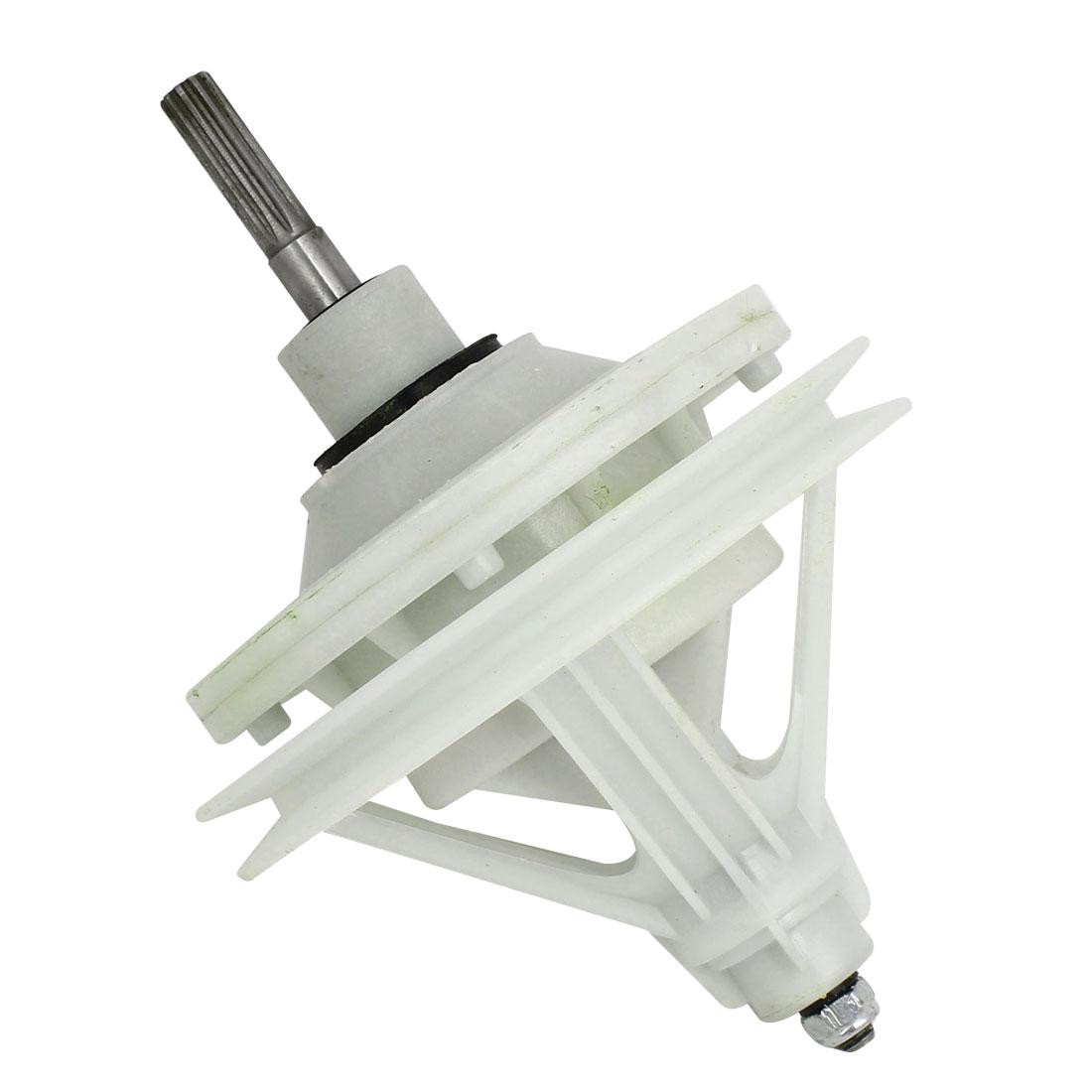 50mm Shaft Washing Machine Transmission 10 Splines Shaft 4 Hole Base 147mmx210mm