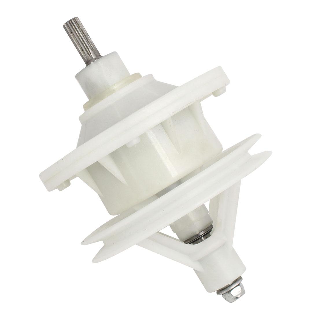 30mm Shaft Washing Machine Transmission 10 Splines Shaft 4 Hole Base 130mmx190mm