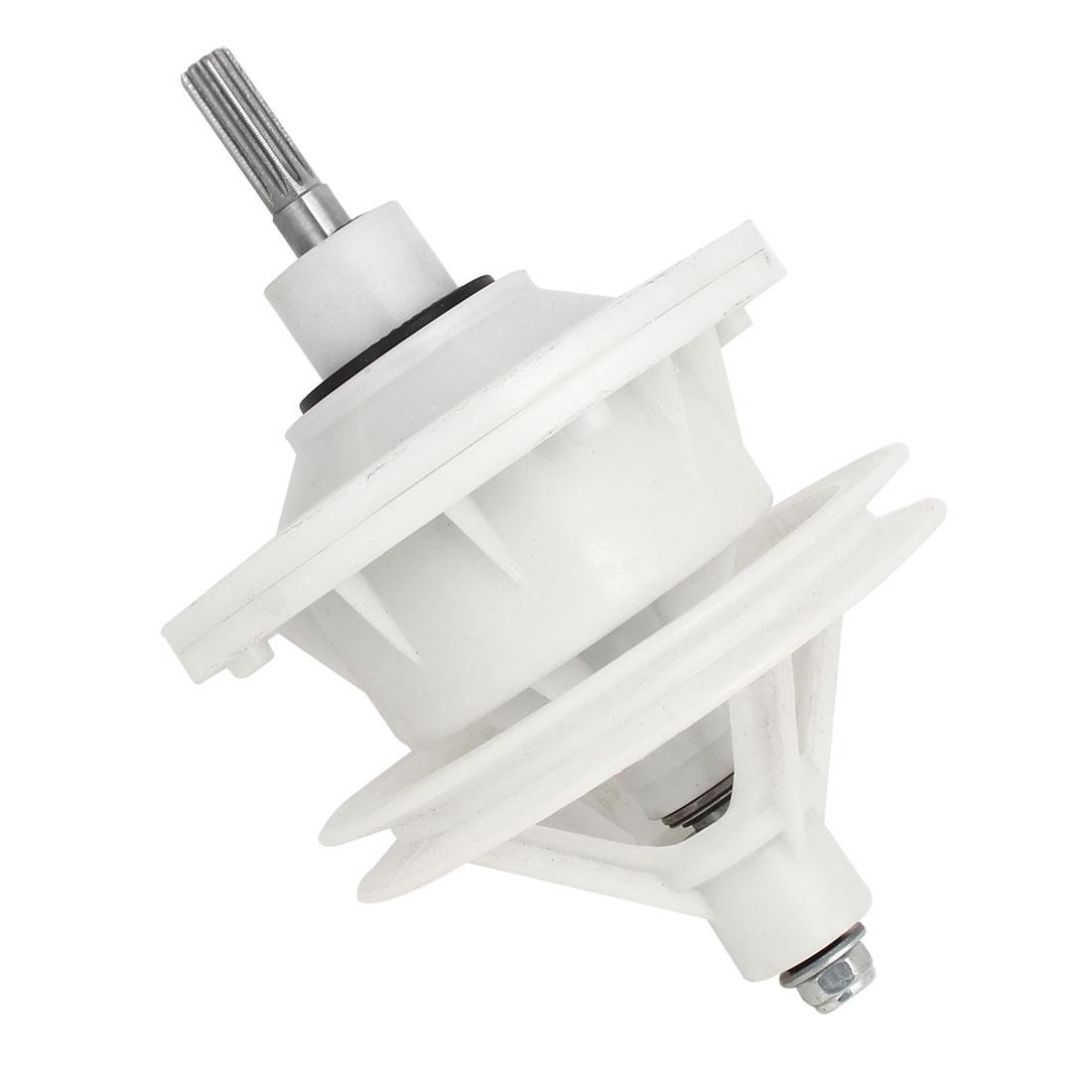 40mm Shaft Washing Machine Transmission 10 Splines Shaft 4 Hole Base 130mmx200mm
