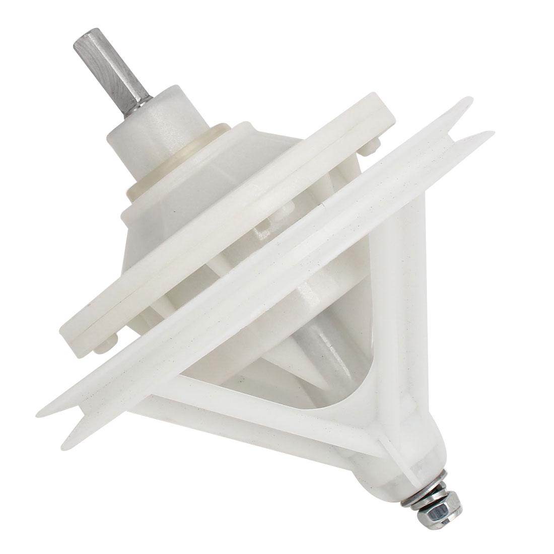 30mm Shaft Washing Machine Transmission Square Shaft 4 Hole Base 170mm x 195mm