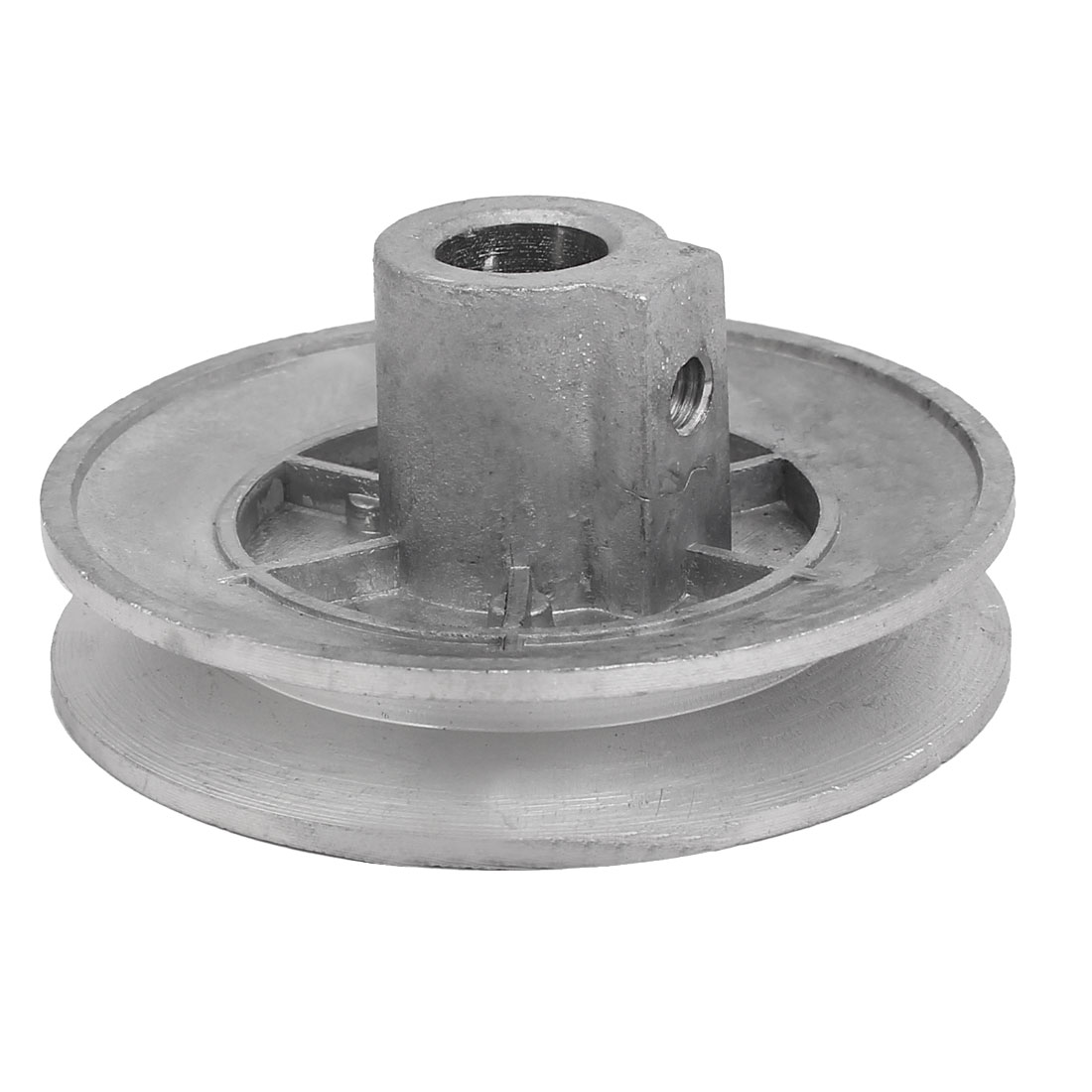 69mm x 30mm Metal Washing Machine Drive Pulley Wheel Silver Tone