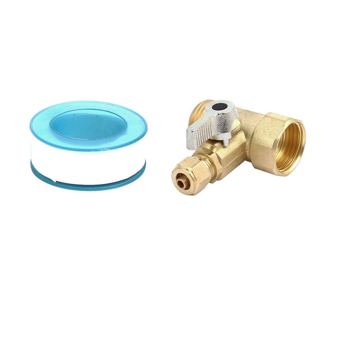 1/2BSPx1/4BSP 3-Way Filter Ball Valve Faucet Tap for RO Water System