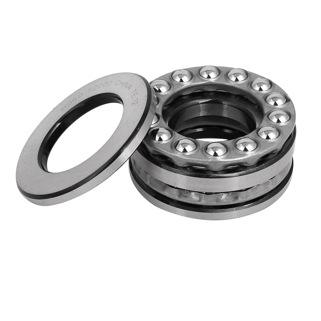 35mmx62mmx34mm Single Row Thrust Ball Bearing 52207