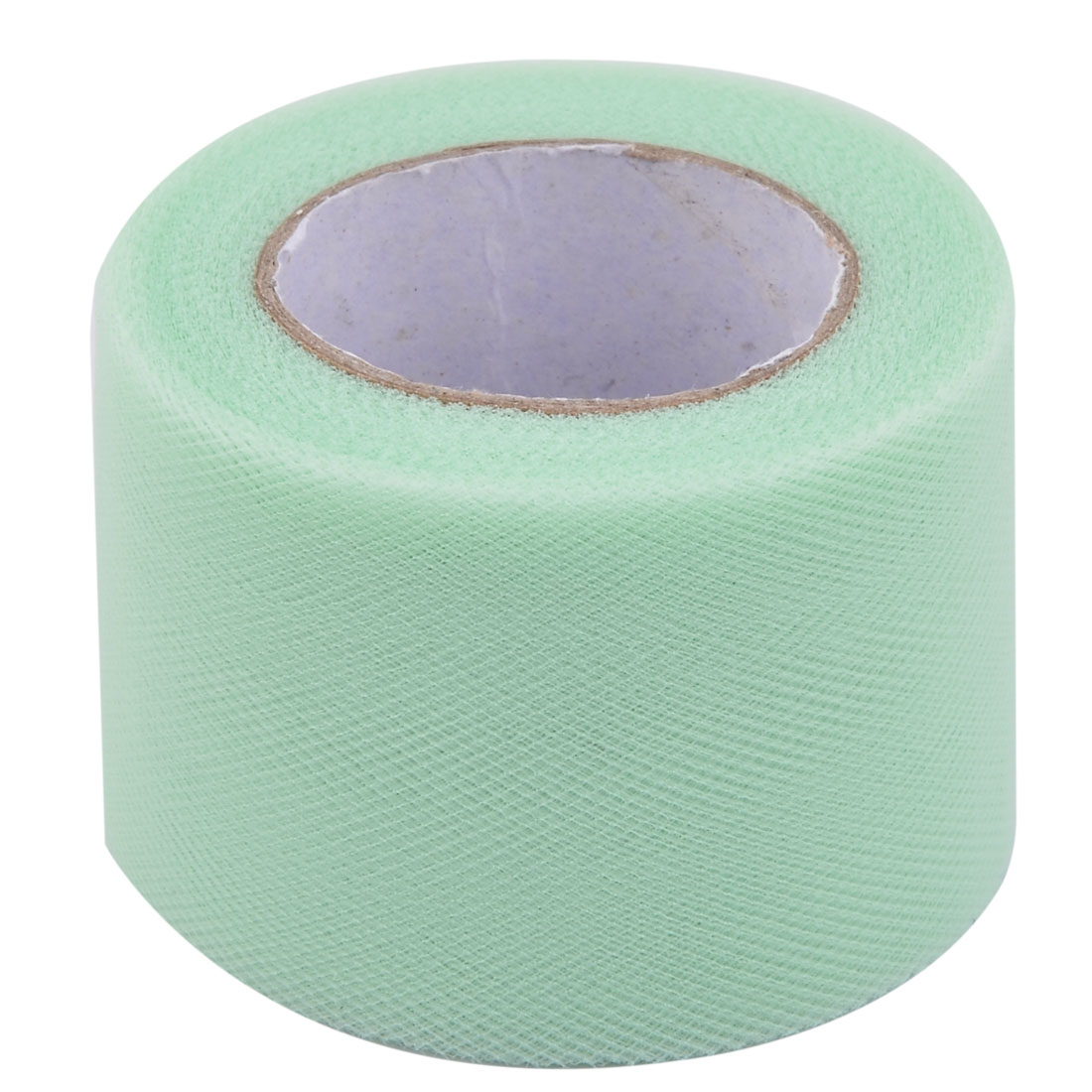 Family Polyester DIY Tutu Skirt Decor Craft Tulle Spool Roll Pale Green 2 Inch x 25 Yards