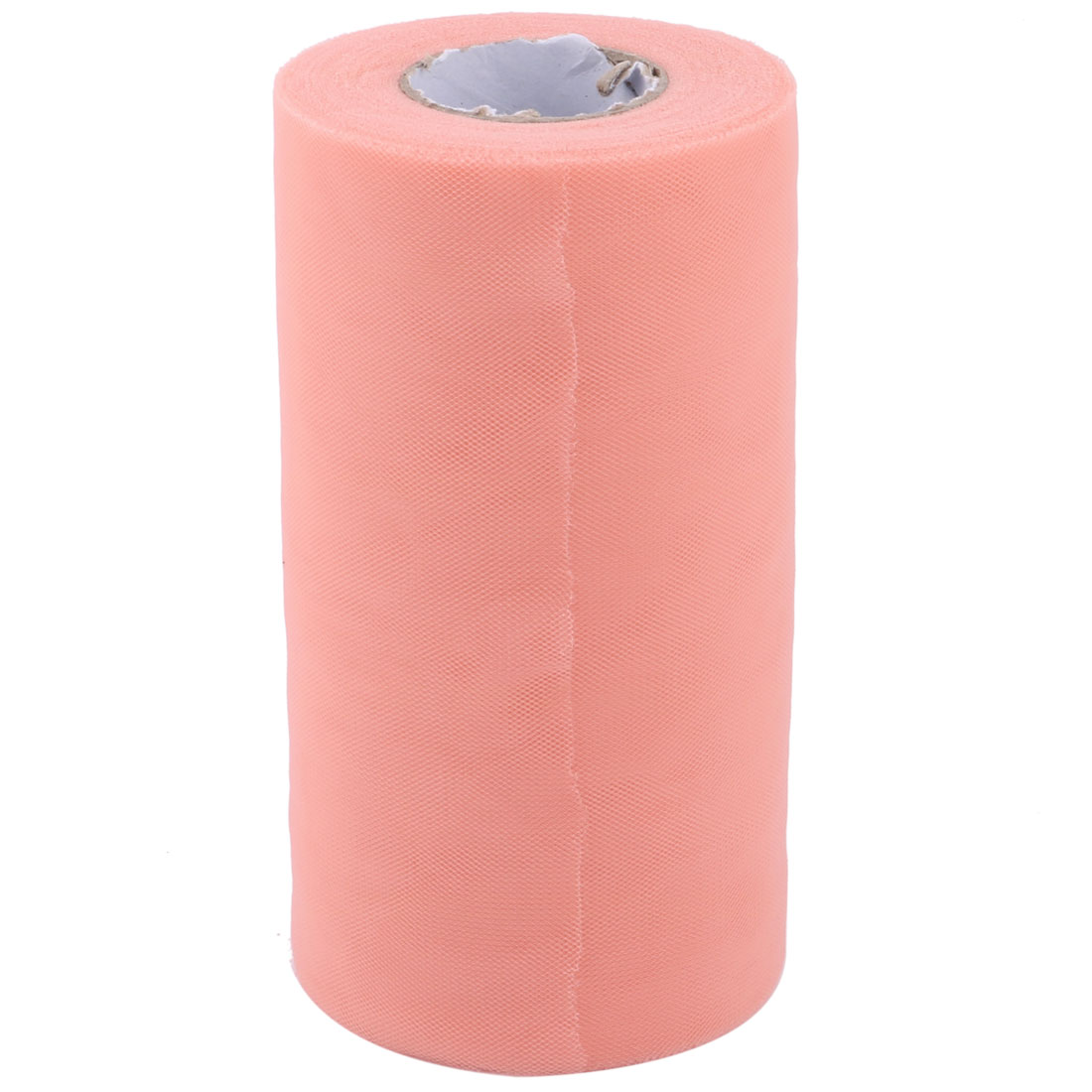 Party DIY Handcraft Chair Decor Tulle Spool Roll Coral Pink 6 Inch x 50 Yards