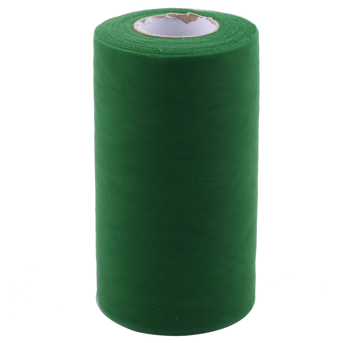 Party Gift Wrap Packing DIY Craft Tulle Spool Roll Dark Green 6 Inch x 50 Yards