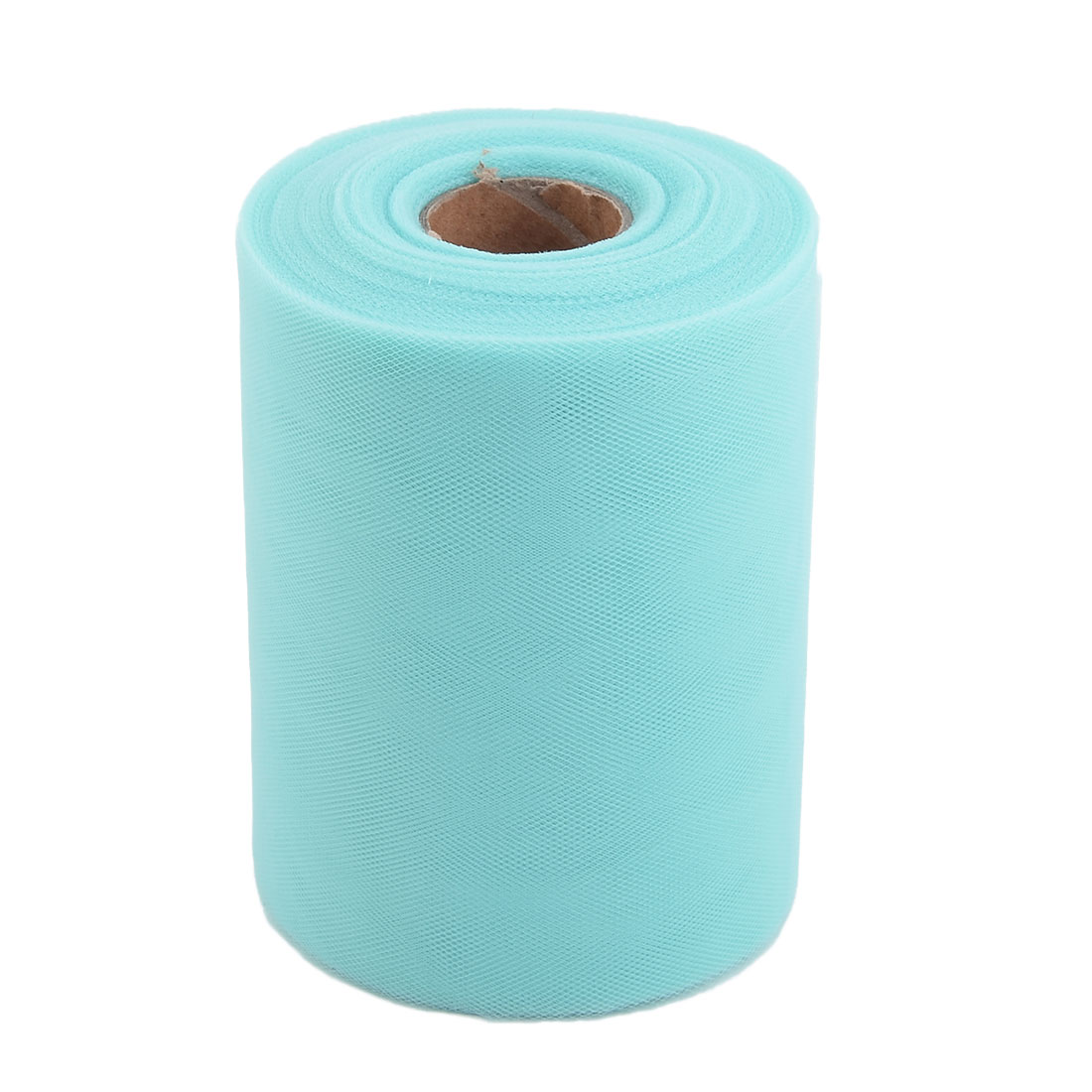 Feast Polyester DIY Tutu Notebook Decor Tulle Spool Roll Turquoise 6 Inch x 100 Yards