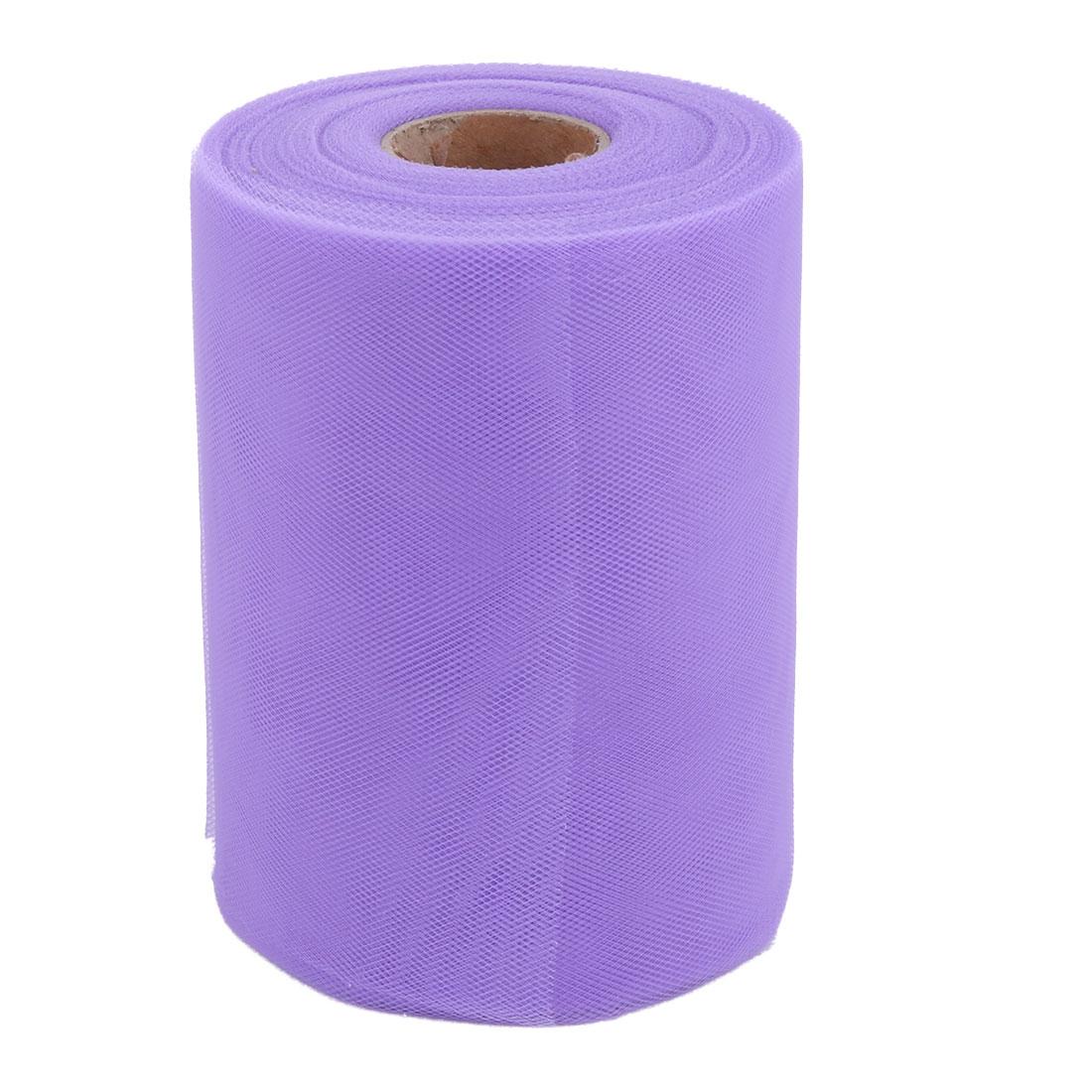 Party Gift Wrap DIY Dress Craft Tulle Spool Roll Light Purple 6 Inch x 100 Yards