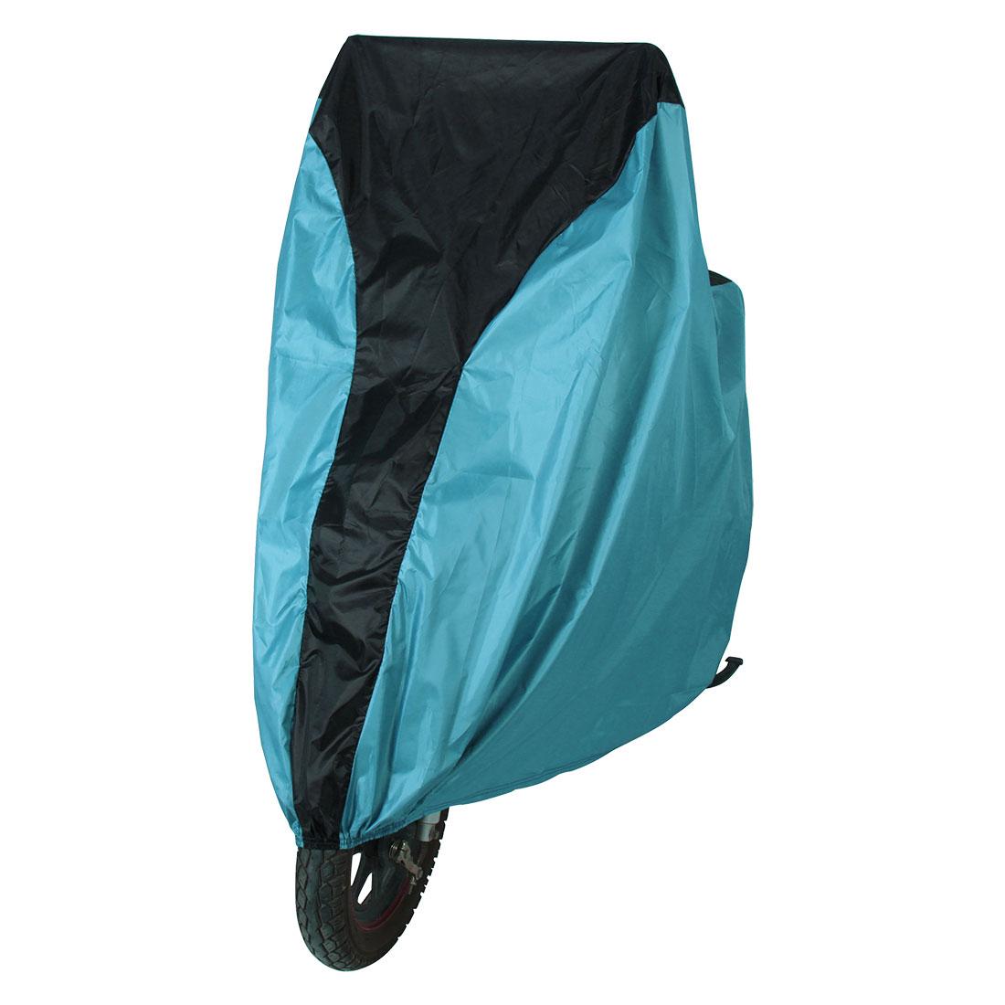 Outdoor Bicycle Bike Cover Rain Protector Anti-UV Garage Storage L Light Blue