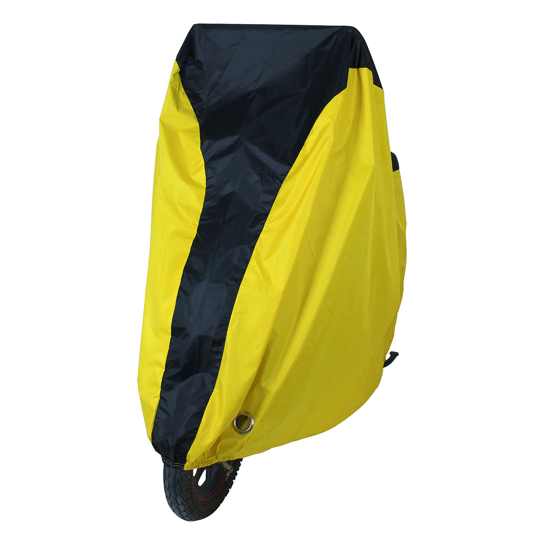 Outdoor Bike Bicycle Rain Dust Cover Water Resistant Garage Scooter Protector XL Yellow