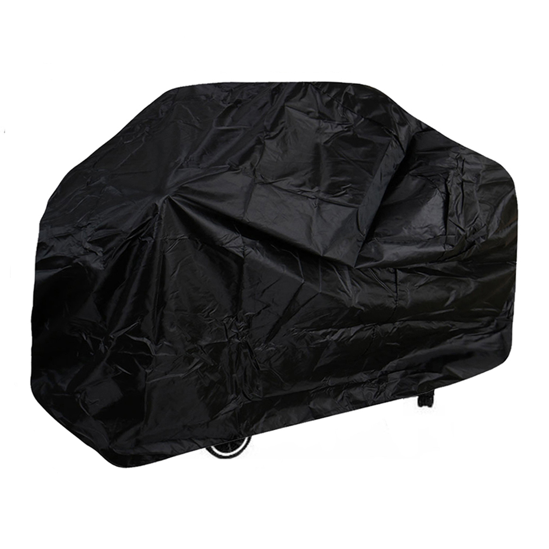 Outdoor Garden Breathable BBQ Cover Water Resistant Barbecue Grill Protector Black L