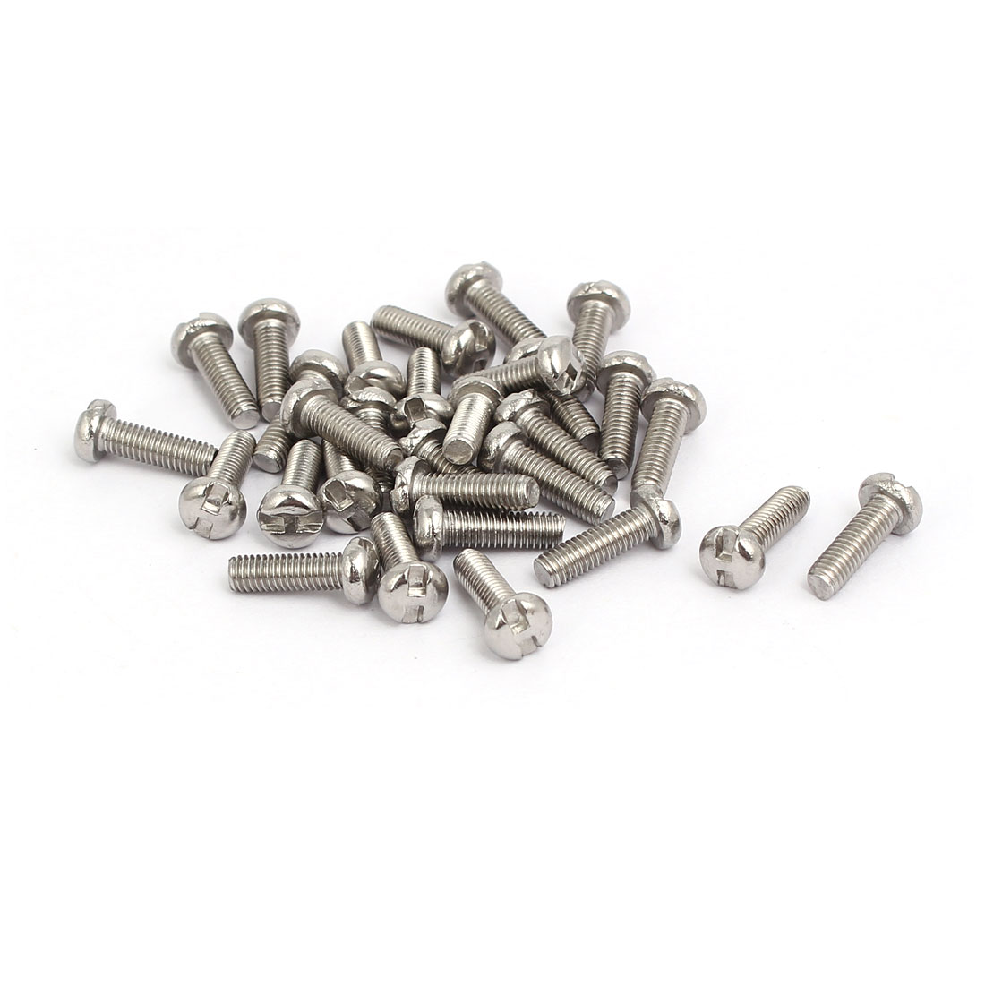 M3x10mm 304 Stainless Steel H-Type Drive Pan Head Tamper Proof Screws 30pcs