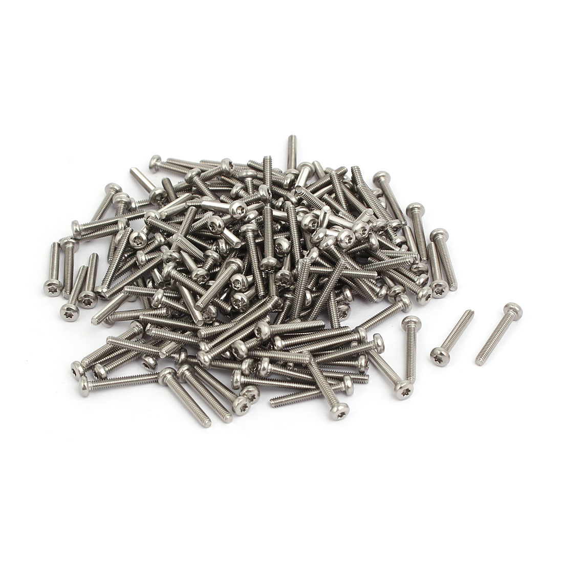 M2x14mm 304 Stainless Steel Button Head Torx Screws Fasteners 200pcs