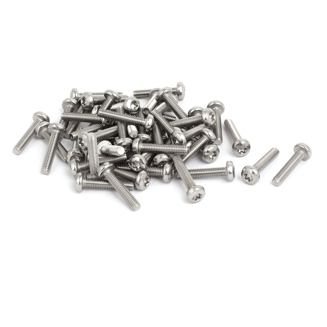 M4x20mm 304 Stainless Steel Button Head Torx Screws Bolts T20 Drive 50pcs