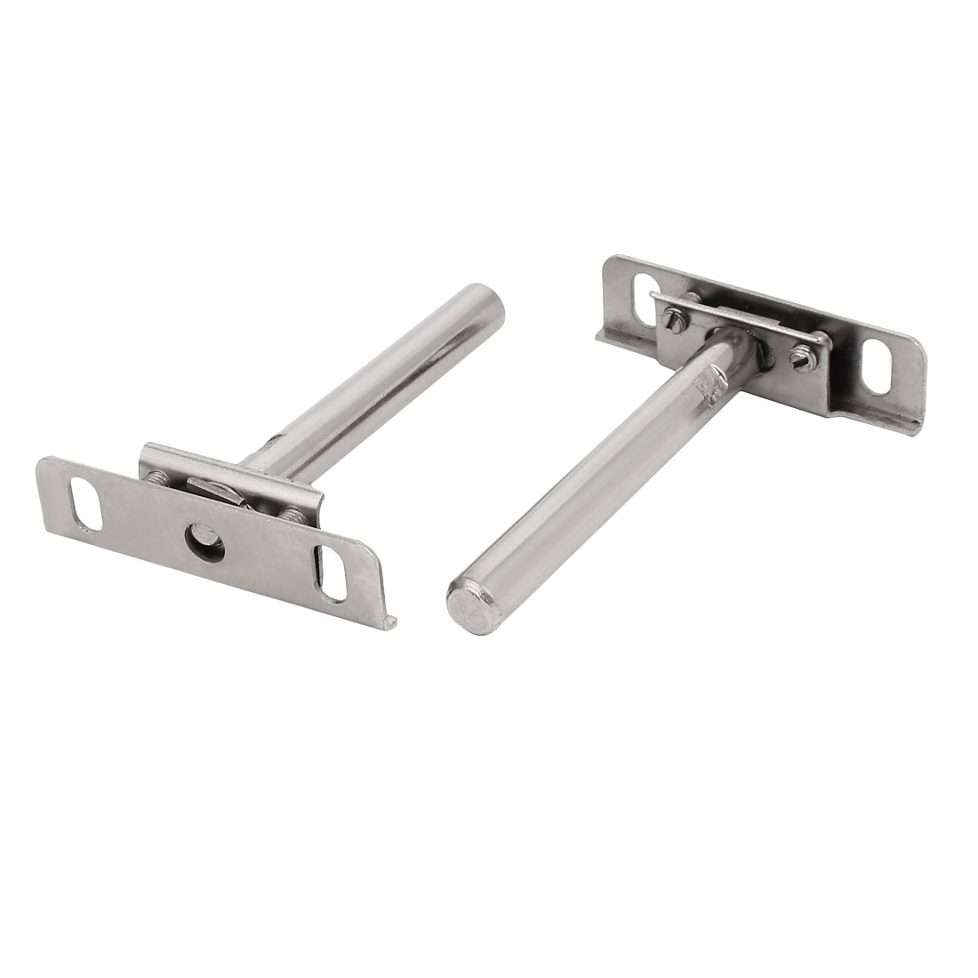 12mm x 100mm Metal Hidden Concealed Invisible Shelf Support Bracket 2pcs