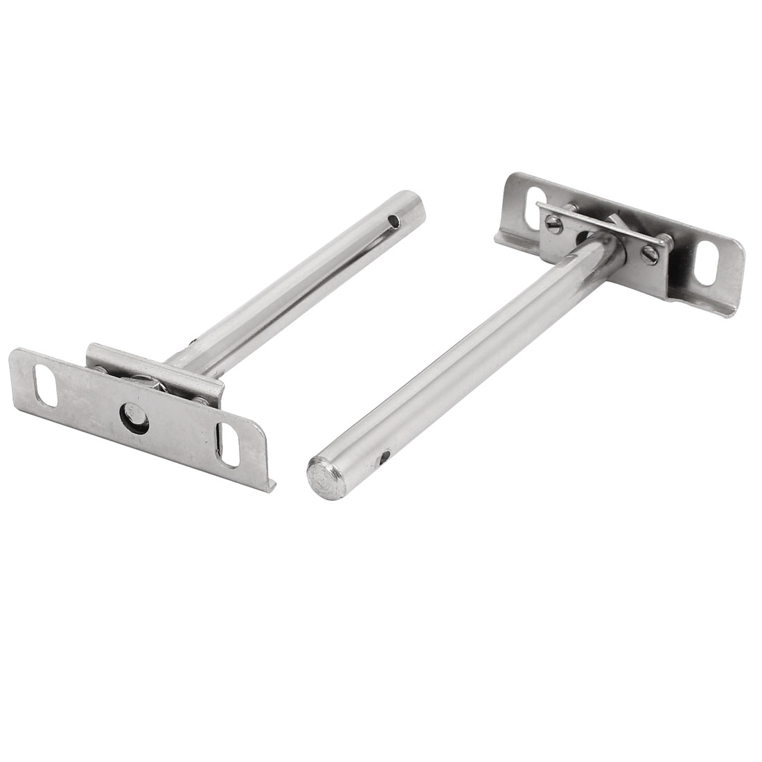 12mm x 125mm Metal Hidden Concealed Invisible Shelf Support Bracket 2pcs