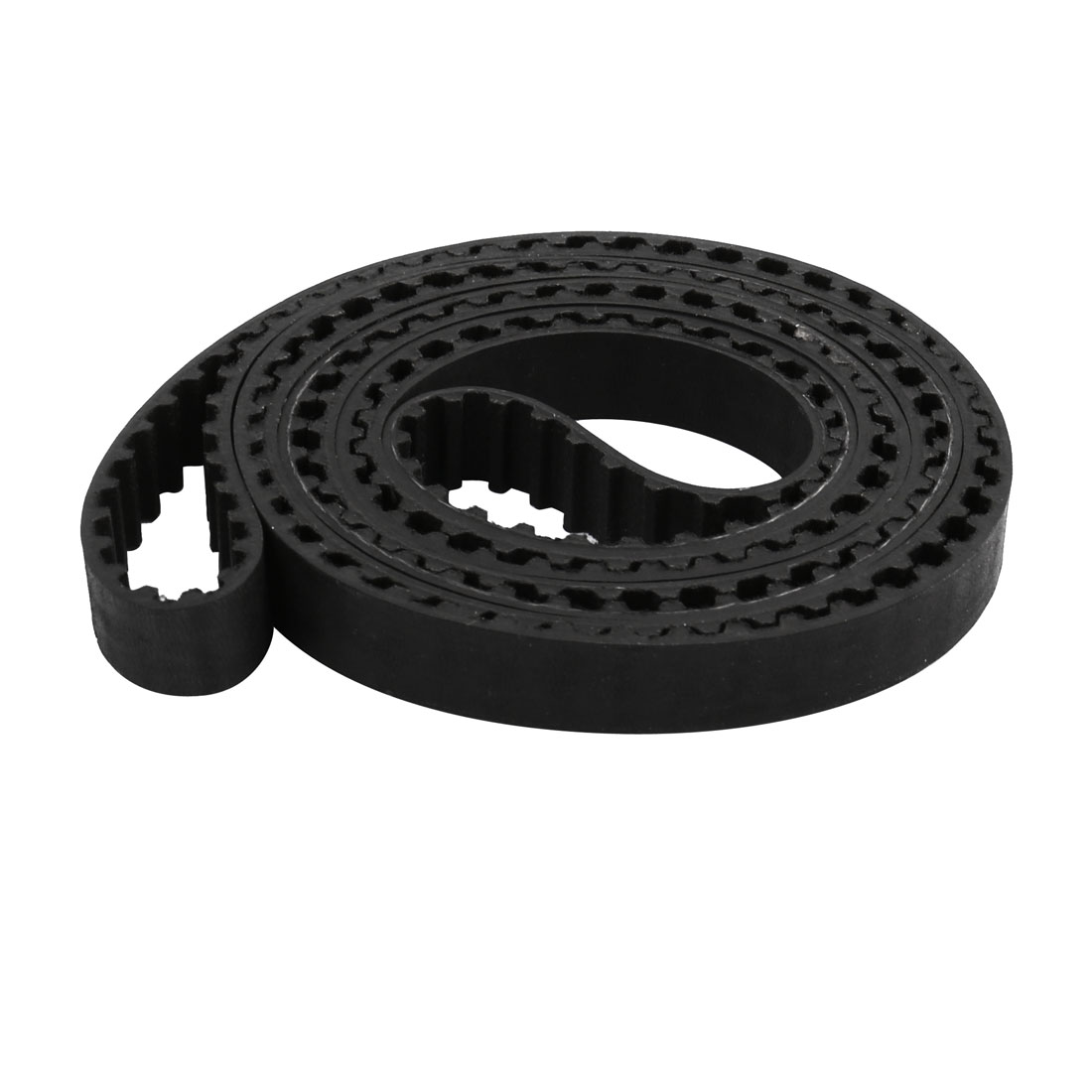 282 Teeth 10mm Width 5.08mm Pitch Rubber Timing Belt for Stepper Motor Black