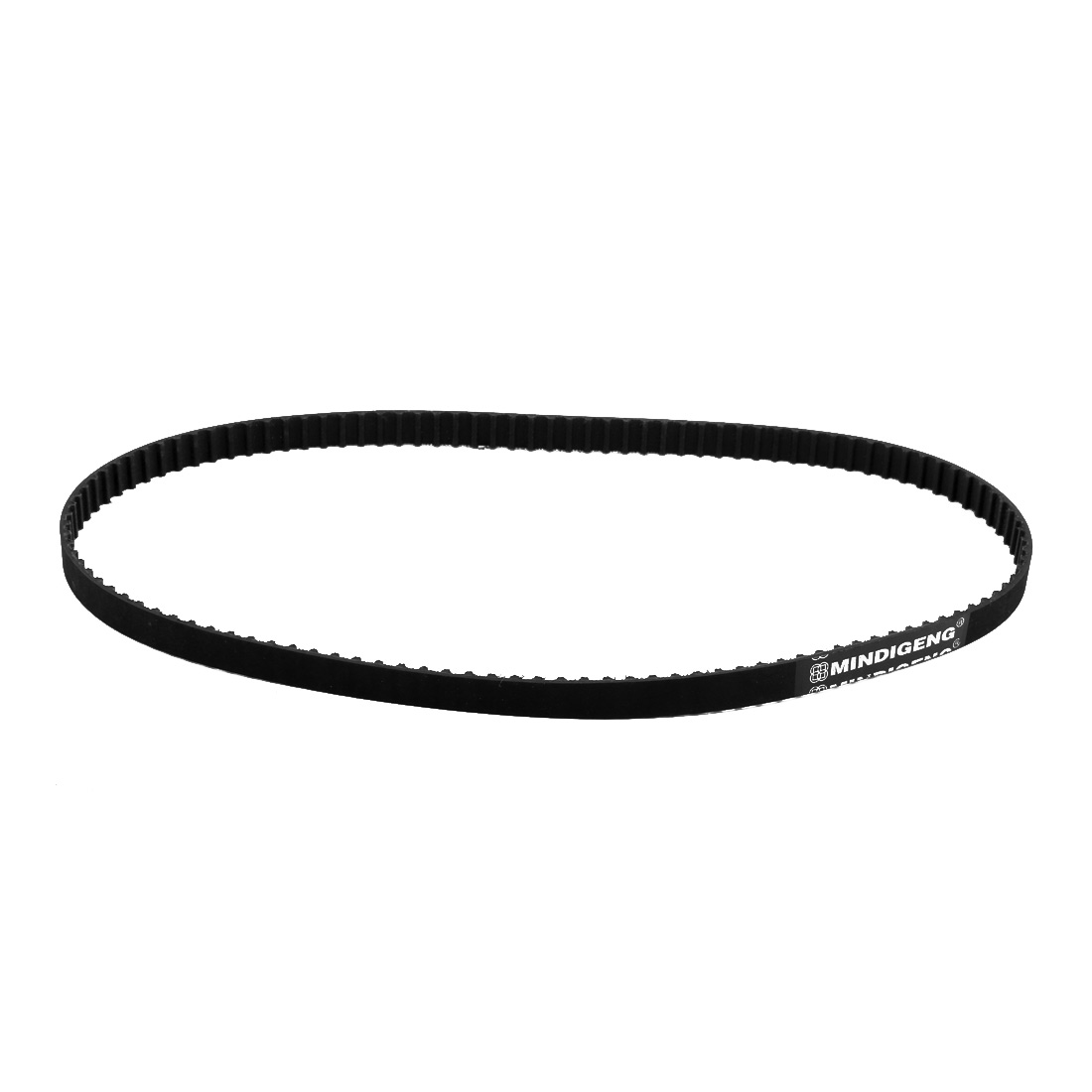 238XL 119 Teeth 10mm Width 5.08mm Pitch Stepper Motor Rubber Timing Belt Black