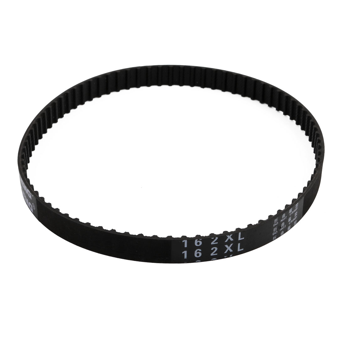 162XL 81 Teeth 10mm Width 5.08mm Pitch Stepper Motor Rubber Timing Geared Belt