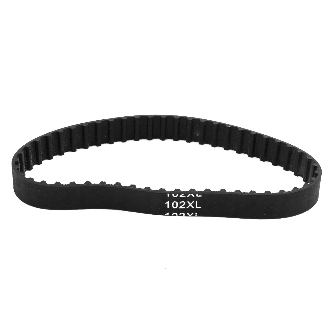102XL 51 Teeth 10mm Width 5.08mm Pitch Stepper Motor Rubber Timing Belt Black