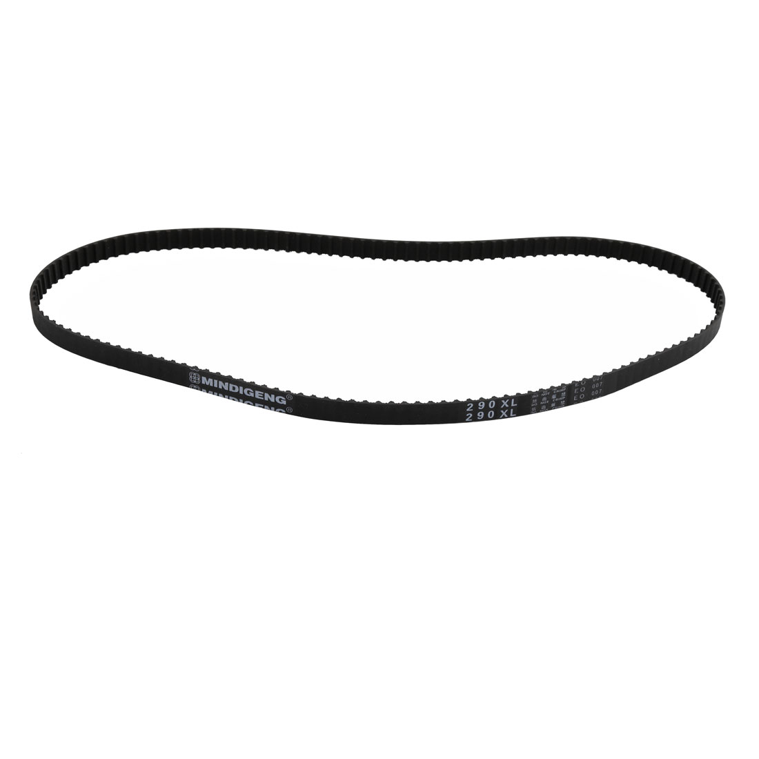 290XL 145 Teeth 10mm Width 5.08mm Pitch Stepper Motor Rubber Timing Belt Black