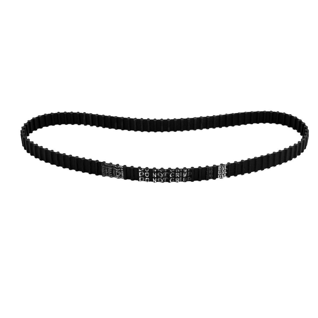 196DXL 96 Teeth 10mm Width 5.08mm Pitch Stepper Motor Rubber Timing Belt Black