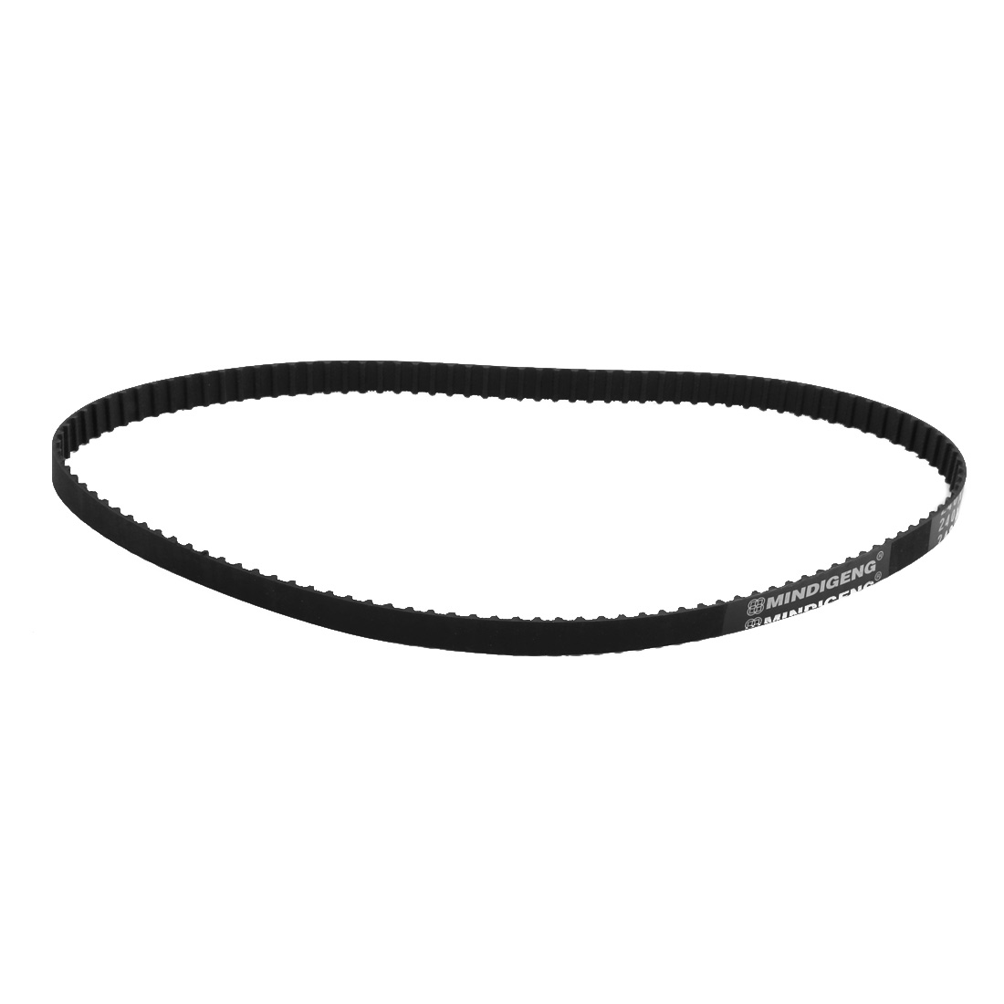 240XL 120 Teeth 10mm x 5.08mm Rubber Timing Geared Belt for Stepper Motor Black