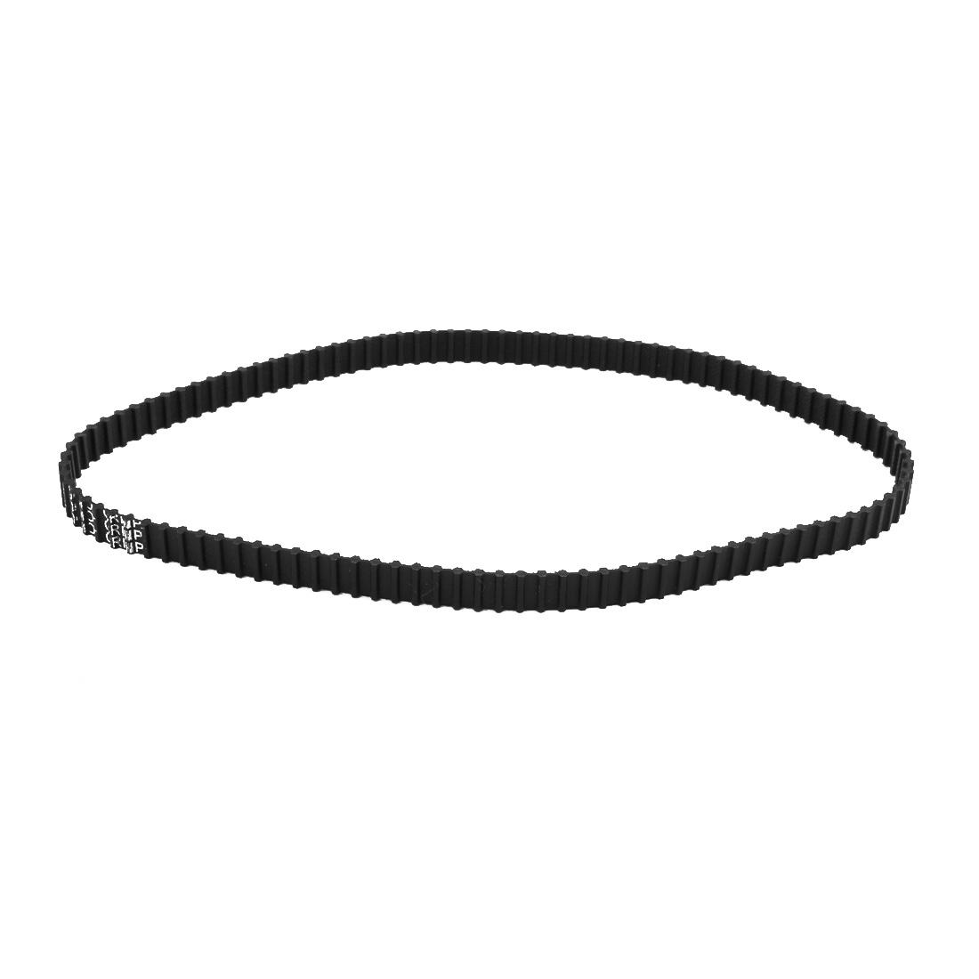 220DXL 110 Teeth 10mm x 5.08mm Double Side Rubber Timing Geared Belt for Motor