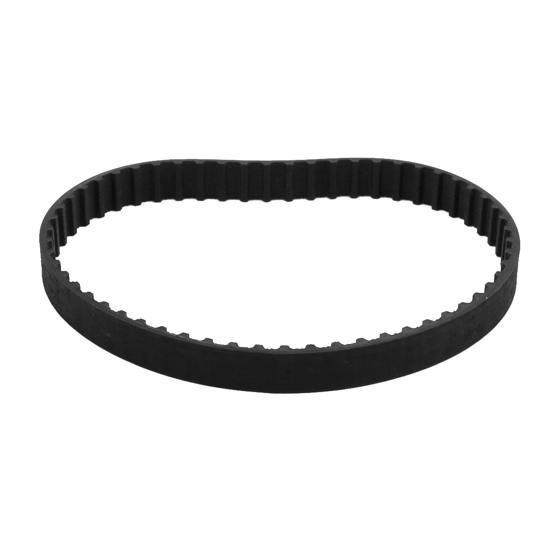 114XL 57 Teeth 10mm Width 5.08mm Pitch Stepper Motor Rubber Timing Belt Black