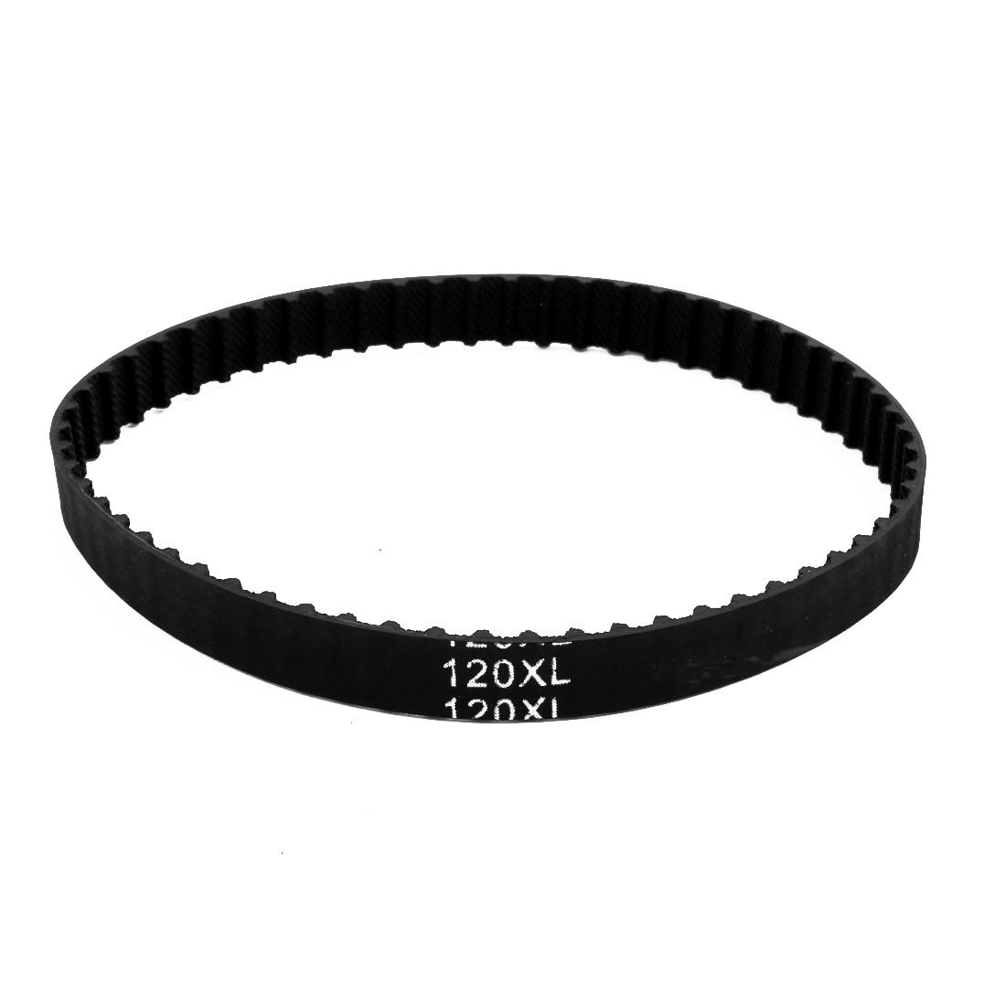 120XL 60 Teeth 10mm Width 5.08mm Pitch Stepper Motor Rubber Timing Geared Belt