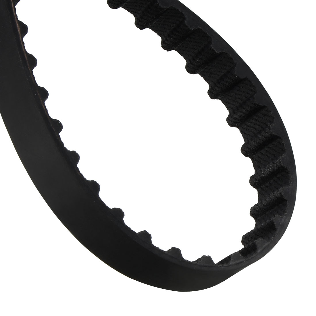 104XL 52 Teeth 10mm x 5.08mm Rubber Timing Geared Belt for Stepper Motor Black