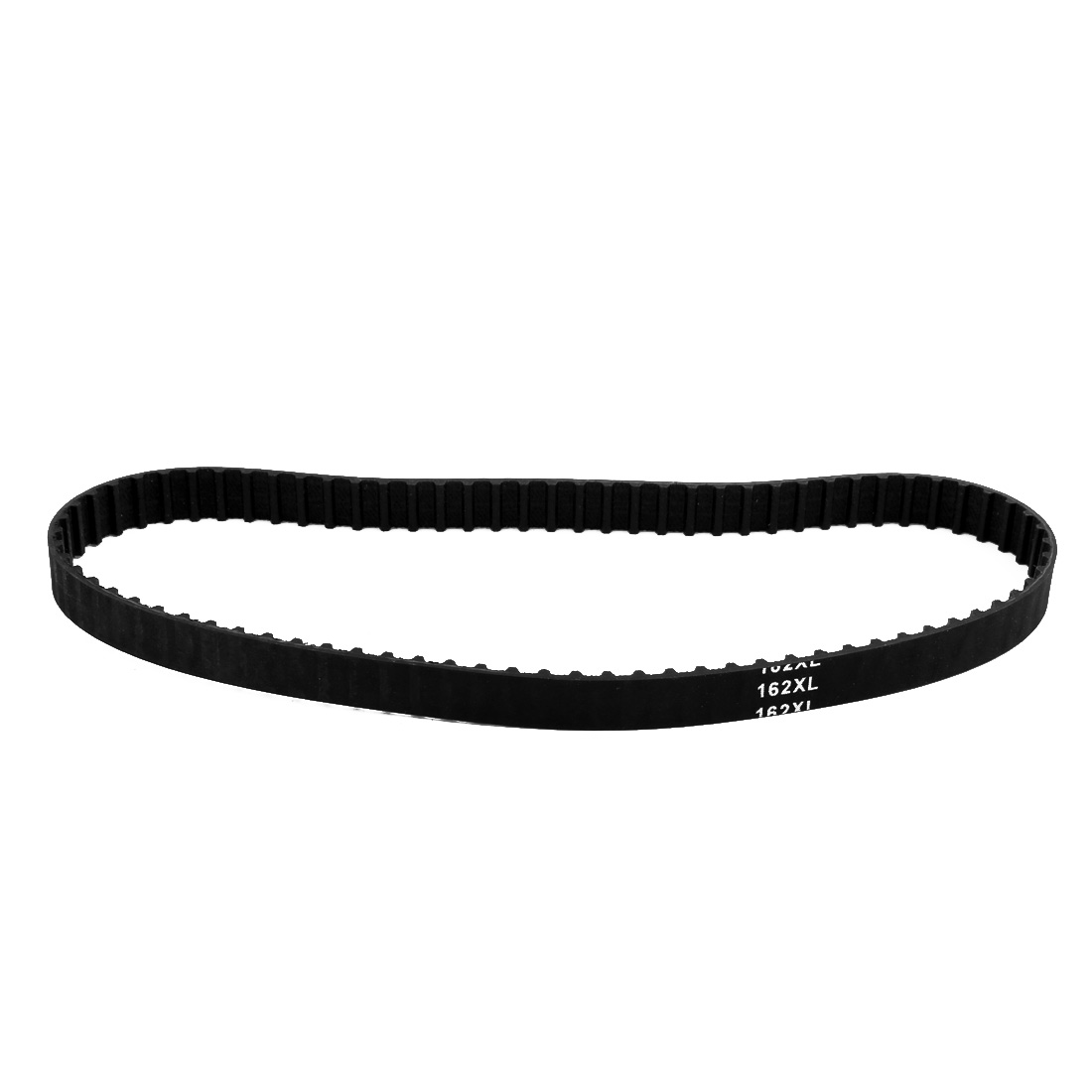 162XL 81 Teeth 10mm Width 5.08mm Pitch Stepper Motor Rubber Timing Belt Black