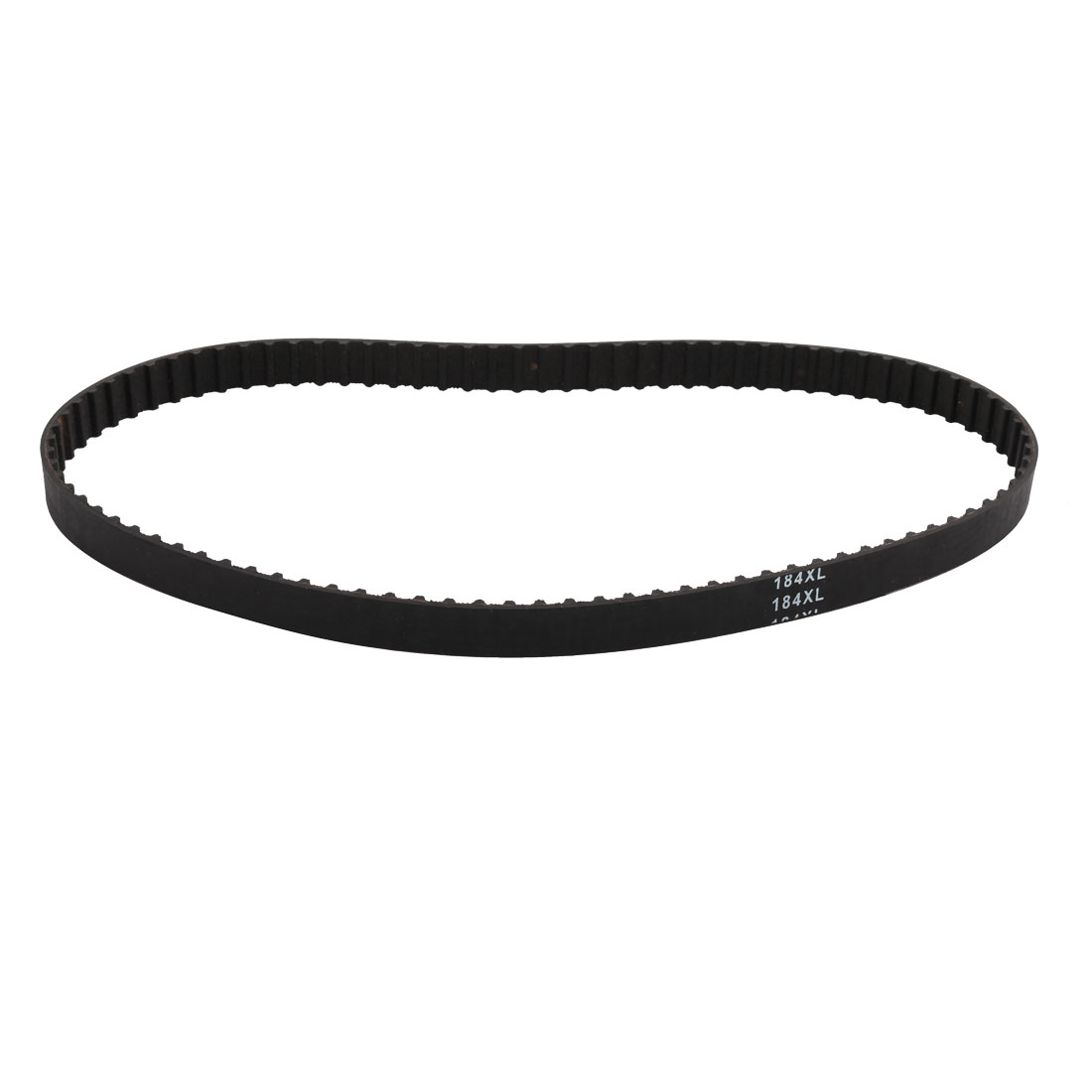 184XL 92 Teeth 10mm Width 5.08mm Pitch Stepper Motor Rubber Timing Belt Black