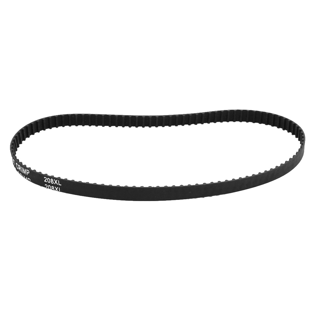 208XL 104 Teeth 10mm x 5.08mm Rubber Timing Geared Belt for Stepper Motor Black