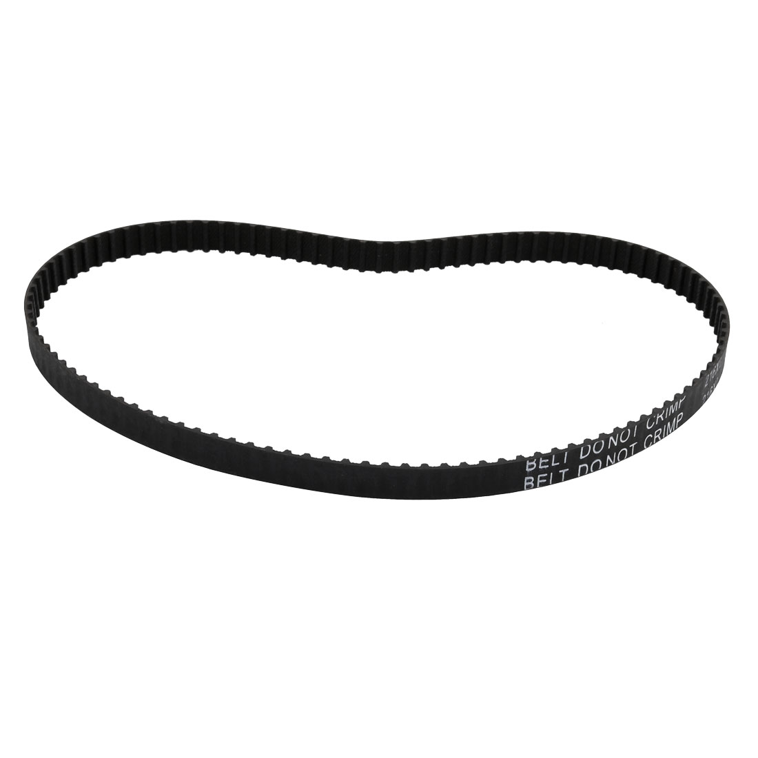 216XL 108 Teeth 10mm Width 5.08mm Pitch Stepper Motor Rubber Timing Belt Black