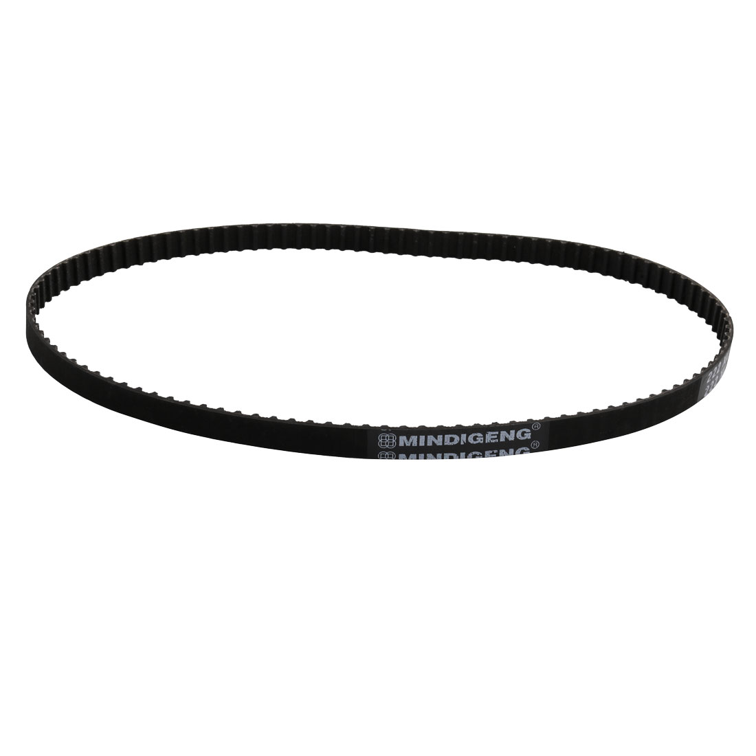 222XL 111 Teeth 10mm Width 5.08mm Pitch Stepper Motor Rubber Timing Belt Black